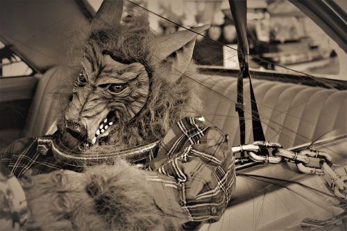 werewolf lycanthrope chained