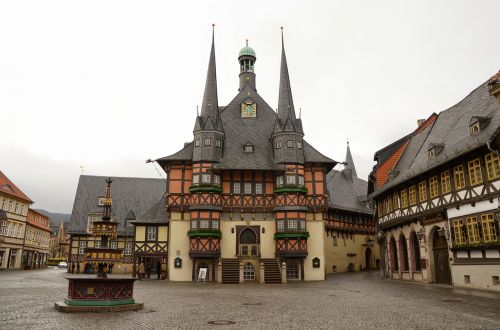 wernigerode town hall resin