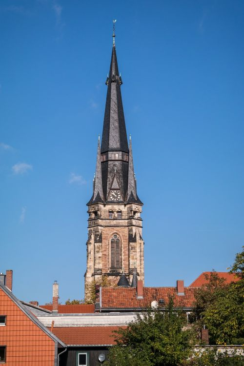 wernigerode steeple church of our lady