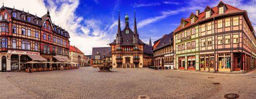 wernigerode marketplace city