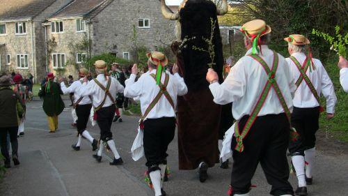 Wessex Morris Men With Dorset Ooser
