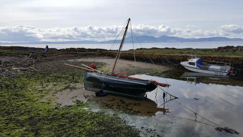 west coast scotland scotland portencross