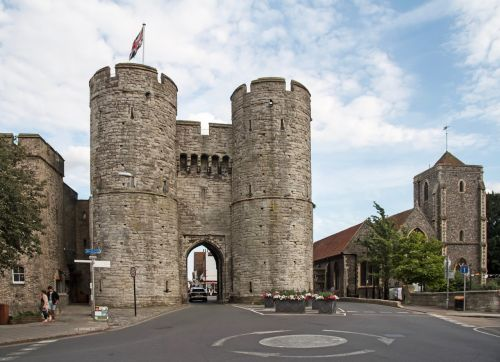 west gate city gate canterbury