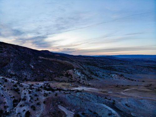West Toward Colorado Sunset
