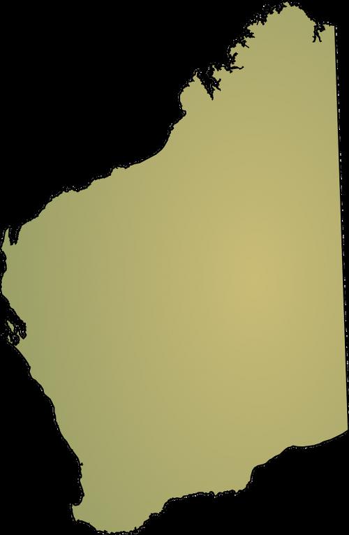 western australia map australia