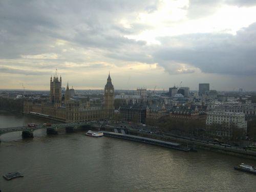 westminster london skyline