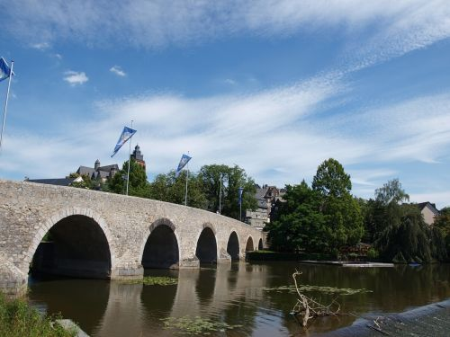 wetzlar hesse old lahn bridge