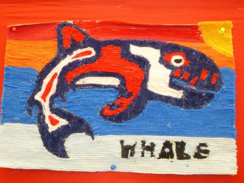 whale first nations yarn