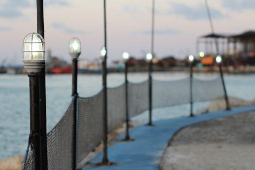 wharf porto light