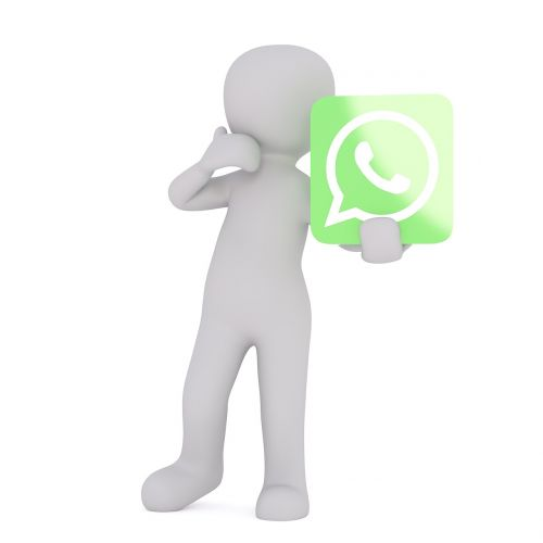 whatsapp white male 3d model