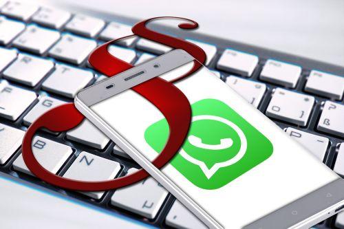 whatsapp keyboard smartphone