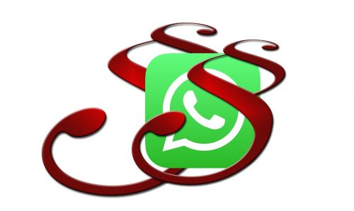 whatsapp law symbol