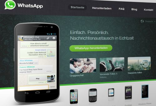 whatsapp instant messenger chat