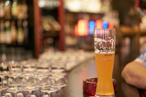 wheat beer bar