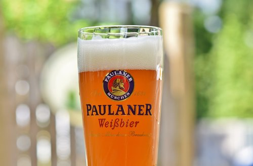 wheat beer  beer  beer glass