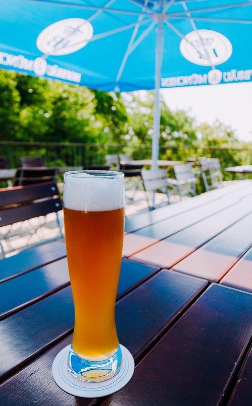 wheat beer  beer  beer glass