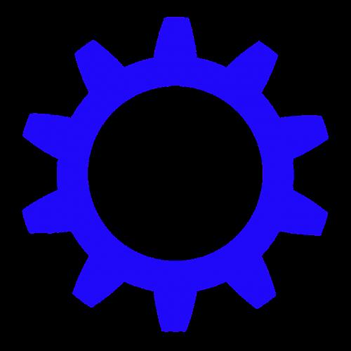 wheel cog circle