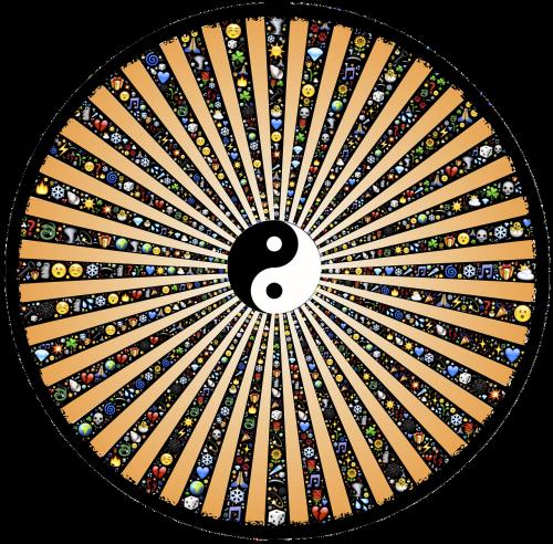 wheel spoke rays
