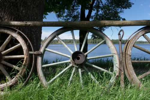wheel wooden wheel wagon wheel
