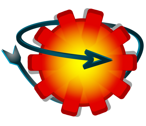 wheel logo icon