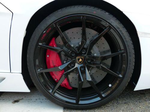 wheel rim disc brake