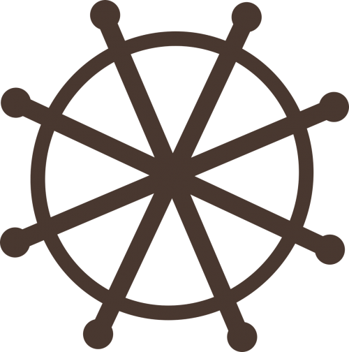 wheel dhamma wheel symbolic