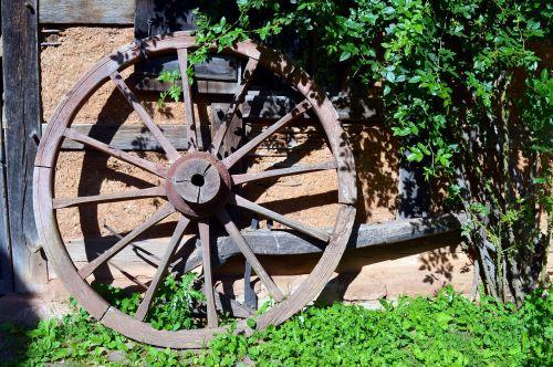 wheel wooden wheel wagon wheel