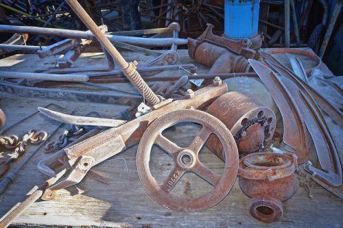 wheel vintage metal
