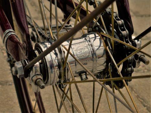 wheel spokes chain