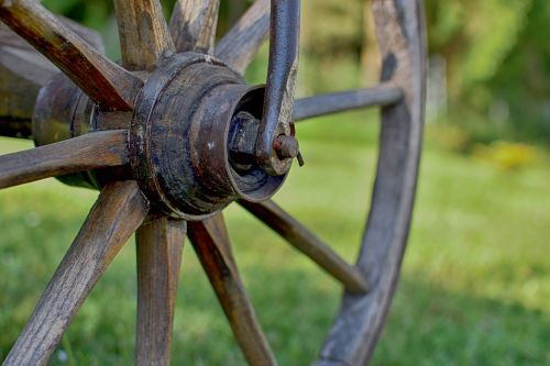 wheel wagon wheel wooden wheel
