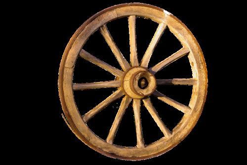 wheel wood wagon wheel