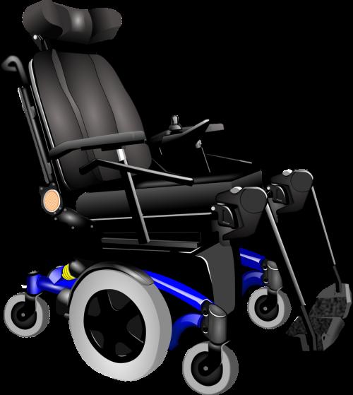 wheel isolated wheelchair