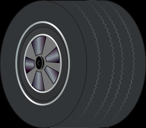 wheel tire wide