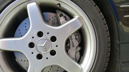 wheel alloy wheel brake caliper