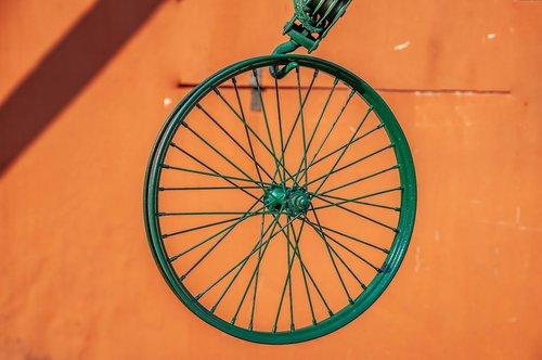 wheel  block and tackle  green