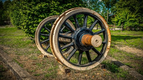 wheel  railway axis  wagon axle