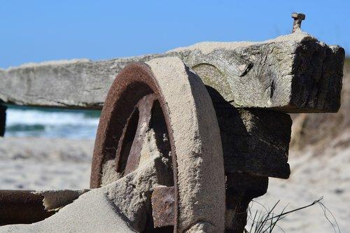 wheel  winds  sand