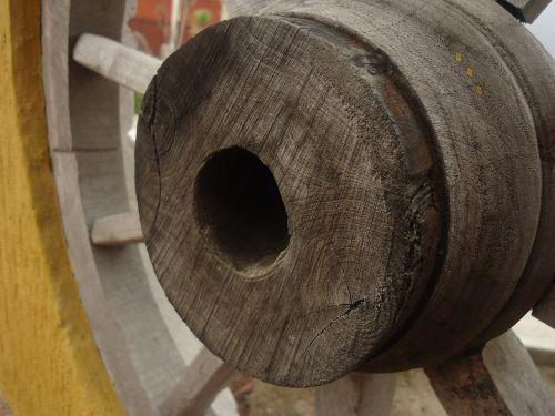 wheel wood old