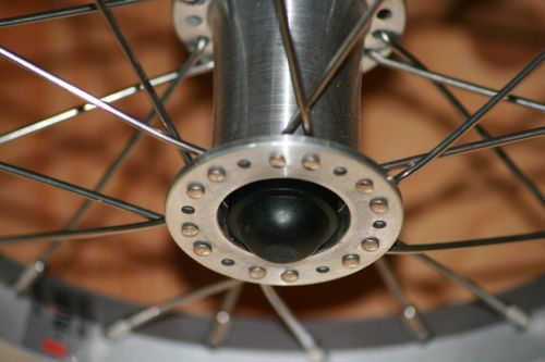 wheel hub spokes bike