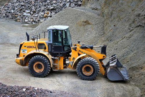 wheel loader quarry quarry operation