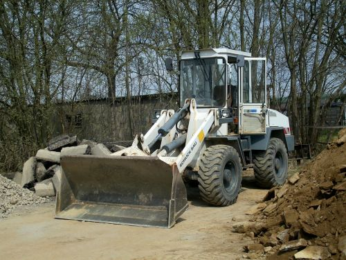 wheel loader vehicle construction vehicle
