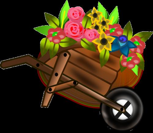 wheelbarrow barrow push cart