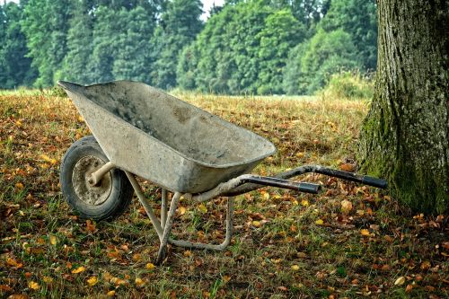 wheelbarrow sliding barrow work