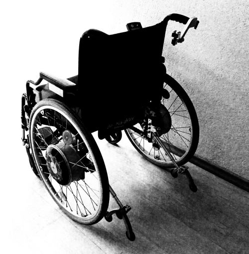wheelchair disability accident
