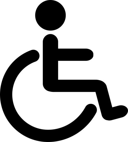 wheelchair disability pictogram