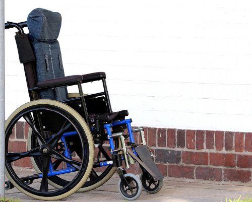 wheelchair disability lame