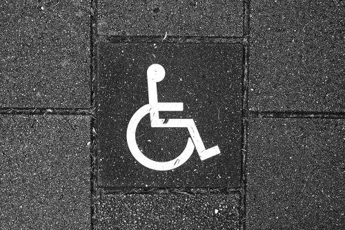 wheelchair vehicle pavement