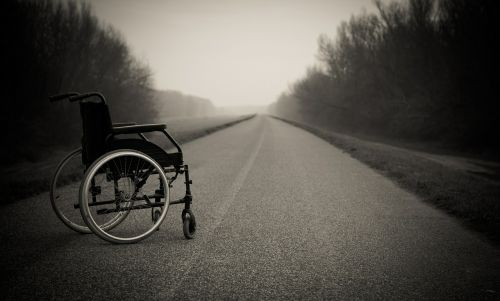 wheelchair lonely physical