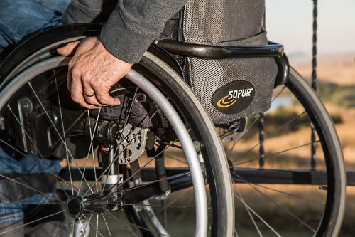 wheelchair disability injured