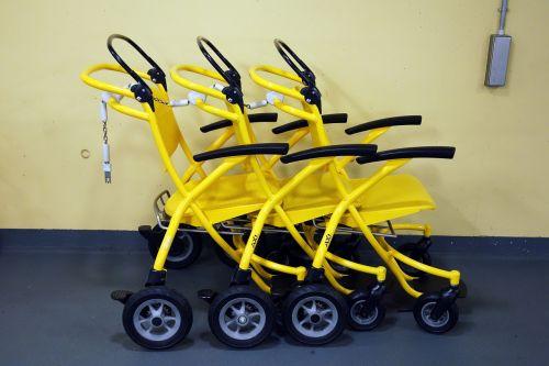 wheelchairs hospital transport